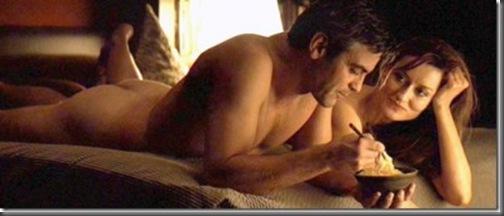 George Clooney nude