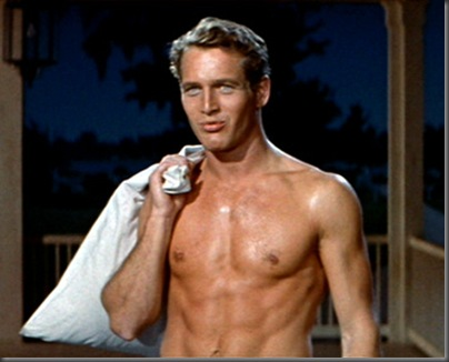 paul newman shirtless 2