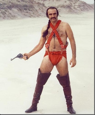 sean connery zed in film zardoz
