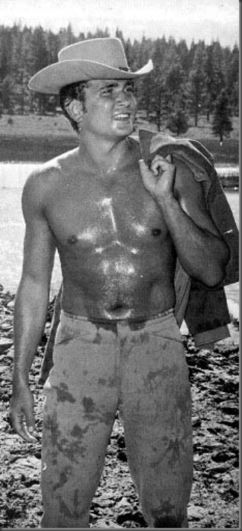 michael landon shirtless